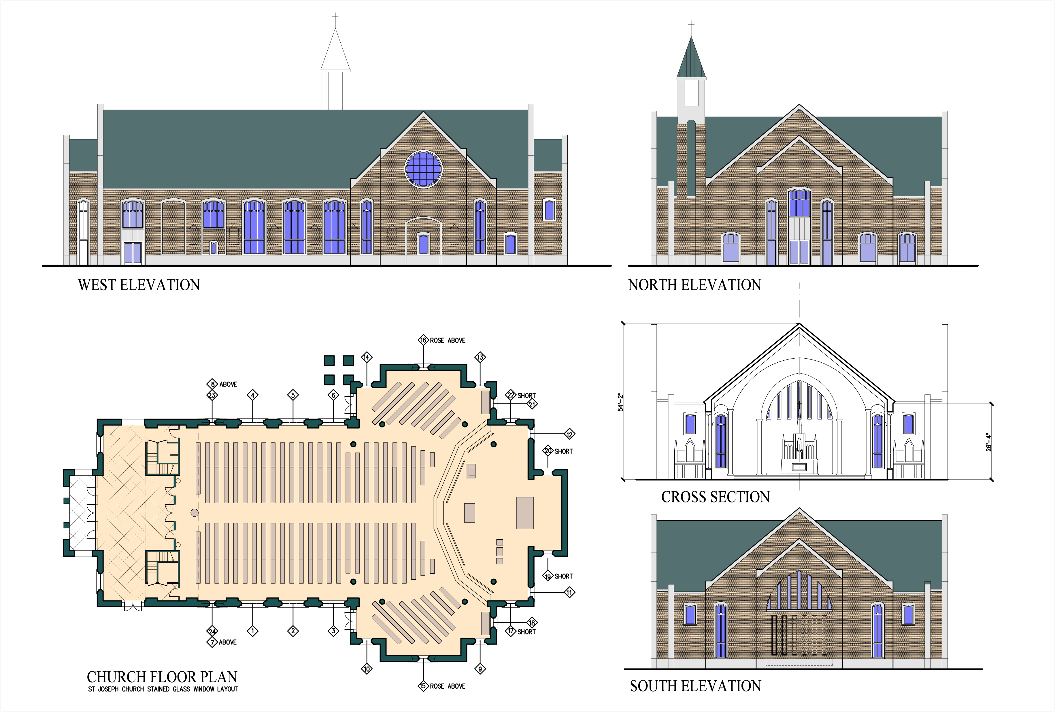St Ignatius Parish Mobile Master Plan Church